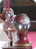 SX13437 Glass spheres on bed in Castle Coch.jpg