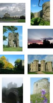 screensaver sample castle pictures
